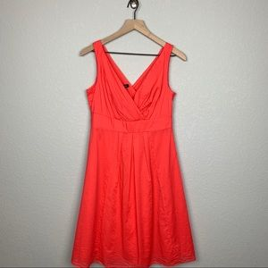 Lands End Coral Dress